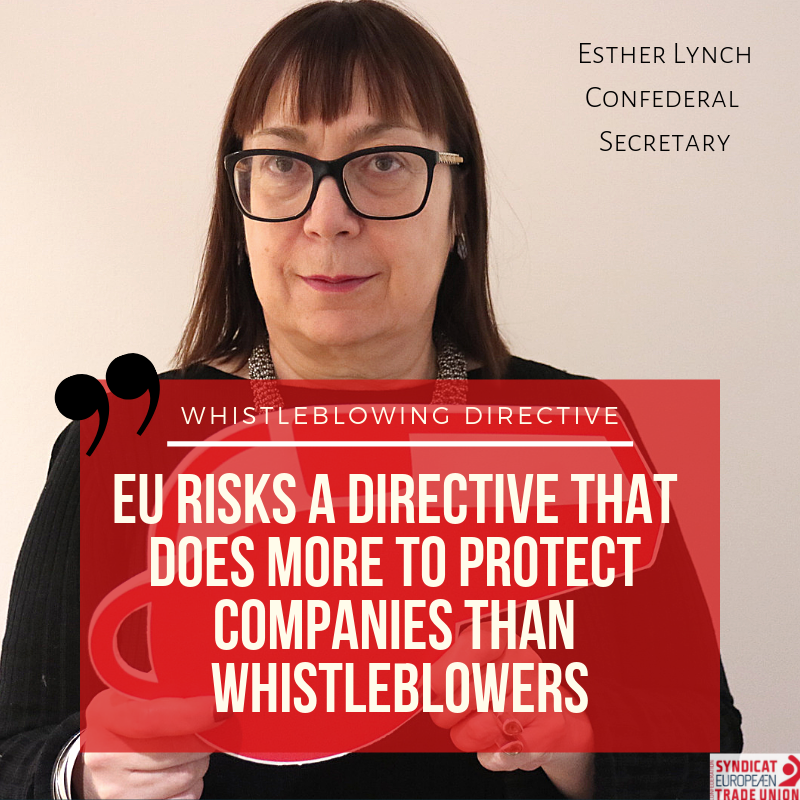 Whistleblowing Directive
