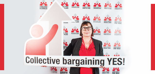 Trade union rights are human rights - collective bargaining/yes