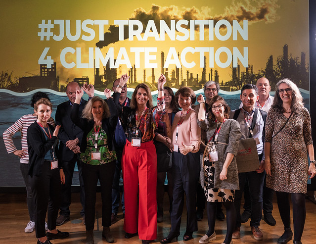 trade unionists for climate action