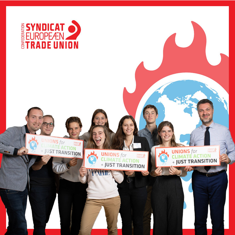 Trade unions for climate action and just transition
