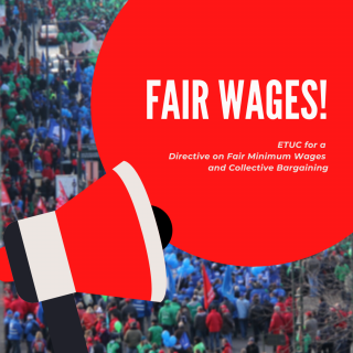 ETUC fighting for fair wages