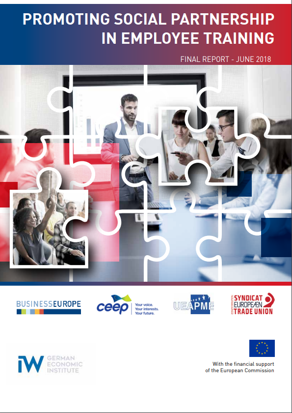 Promoting Social Partnership in Employee Training - Recommendations and Report (ETUC, BusinessEurope, CEEP, UEAPME)