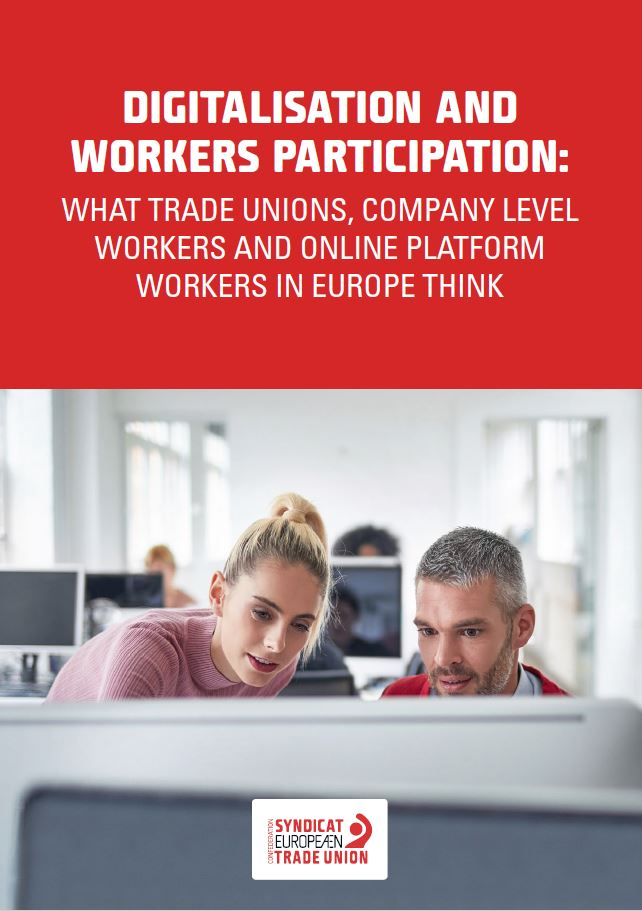Digitalisation and workers' participation - E.Voss report