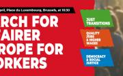 March for a fairer Europe