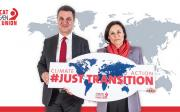 Involving trade unions in climate action to build a just transition
